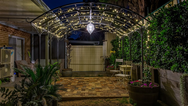 Gazebo and Paving 16-9