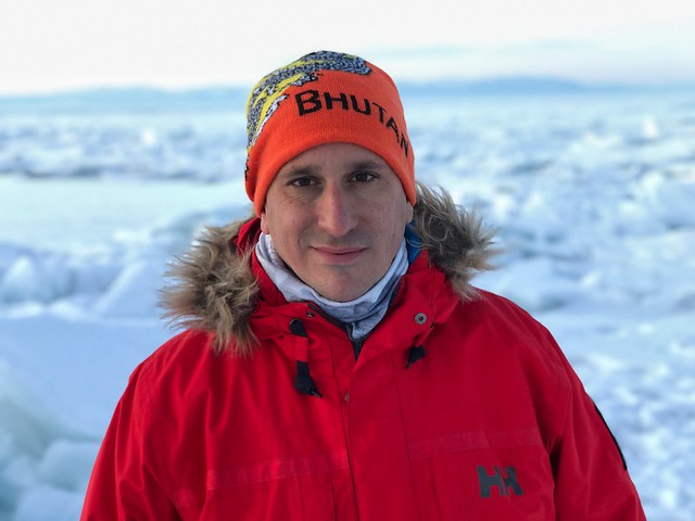 Sele en el Lago Baikal durante el pasado invierno