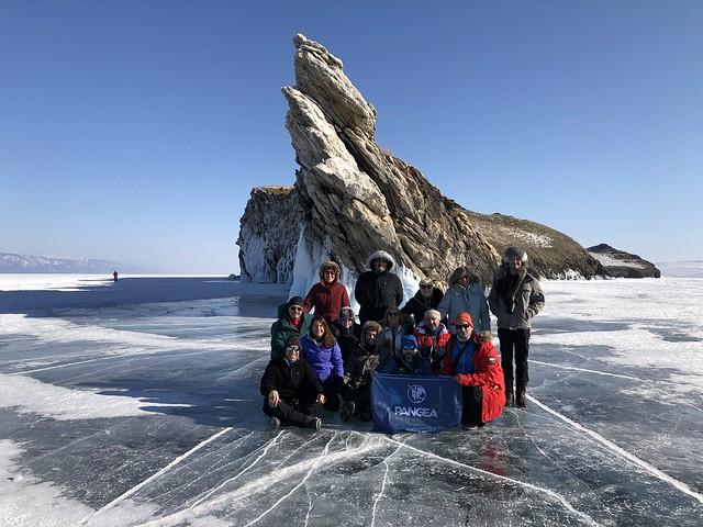 Equipo con el que viajé al Lago Baikal en febrero de 2020