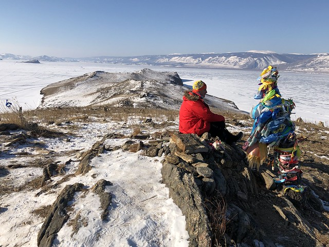 Sele en la Isla Ogoy (Lago Baikal, Rusia)