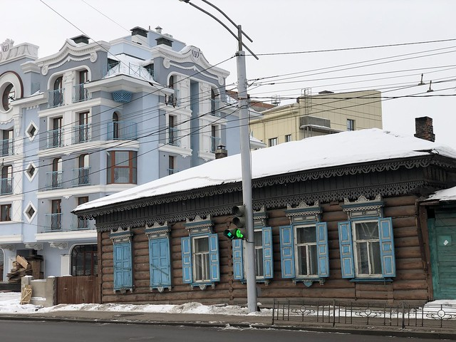 Calle de Irkutsk (Rusia)