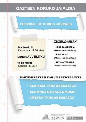 Festival  de coros jovenes Elitxu