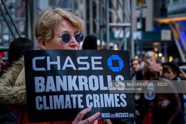 Rally to stop JPMorgan Chase destruction of the Amazon