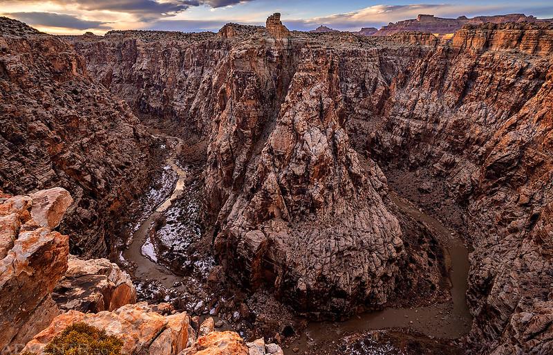 Desert River Bend