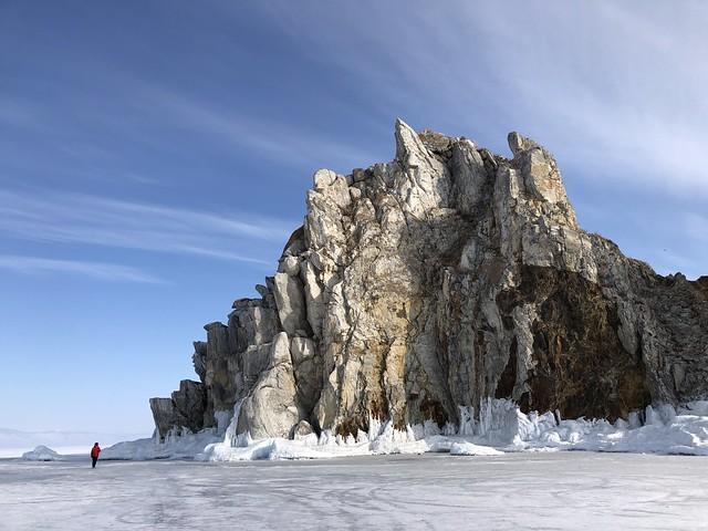 Isla del Lago Baikal (invierno)