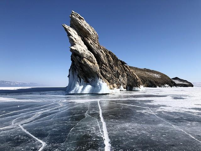 Isla de Ogoy (Lago Baikal, Rusia)