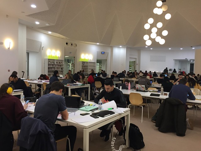 Bibliothèque Sciences Po, Lille