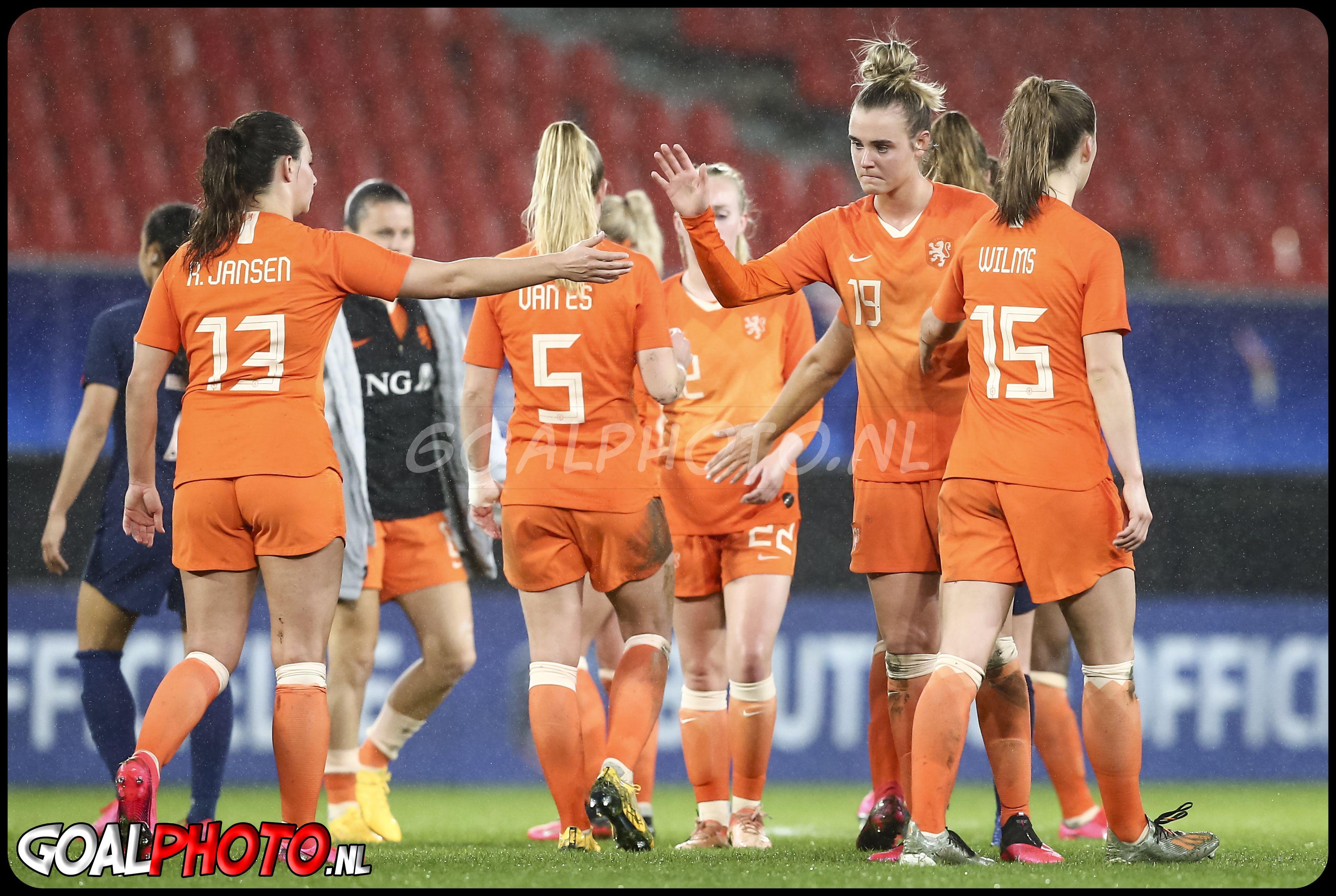 Frankrijk - Nederland 10-03-2020