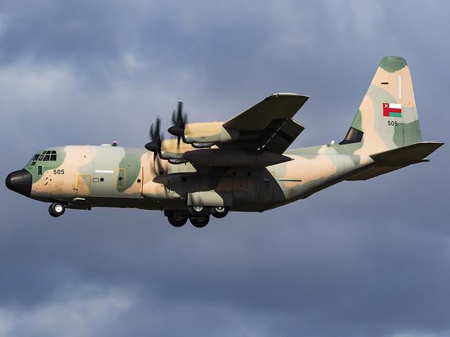 Royal Air Force of Oman | Lockheed Martin C-130J Hercules | 505