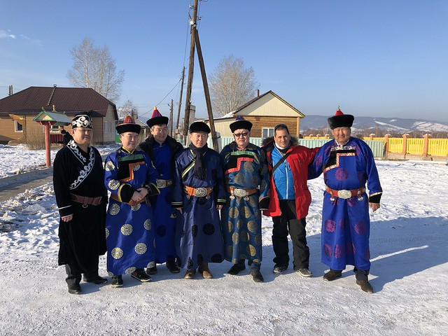 Junto a los buriatos en Ivolginsky Datsan (Buriatia, Rusia)