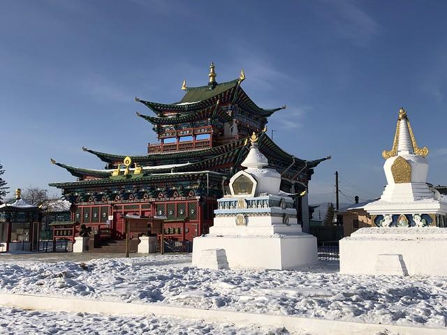 Ivolginsky Datsan, el monasterio budista más importante de Rusia