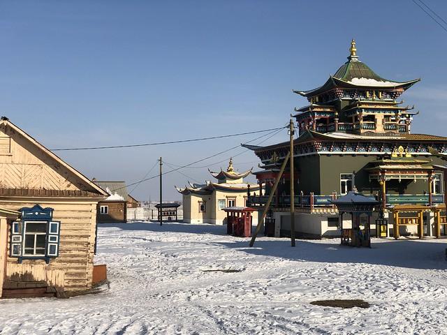 Ivolginsky Datsan, el principal monasterio budista de Rusia