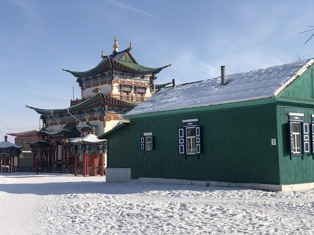 Ivolginsky Datsan (templo budista de Buriatia, Rusia)
