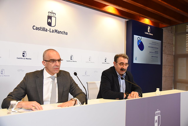 Rueda de prensa sobre la incidencia del contagio por coronavirus en Castilla-La Mancha