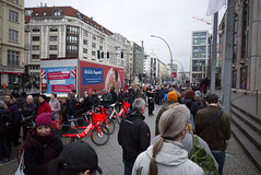 Berlinale 2020 queue at Friedrichstadt-Palast