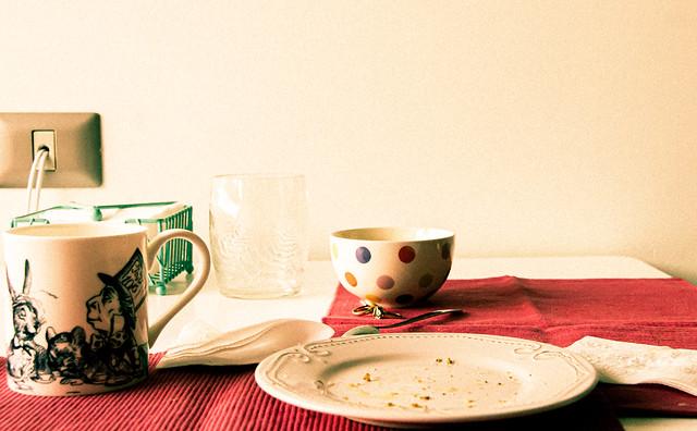 Desayunando en el País de las Maravillas