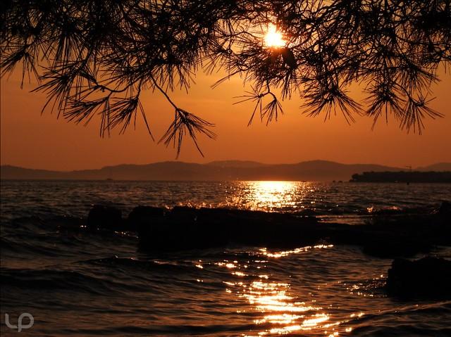 The Sun on the beach