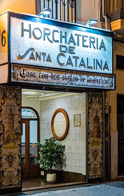 A Traditional Horchateria (Plaza de la Reina -  Valencia) (Olympus OM-D EM1.2 & Zuiko 25mm f1.2 Prime) (1 of 1)