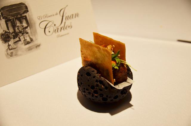 Michelin star restaurant, El Rincon de Juan Carlos, Los Gigantes, Tenerife