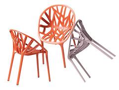 *Židle Vegetal zroku 2008od Ronana aErwana Bouroullecových*