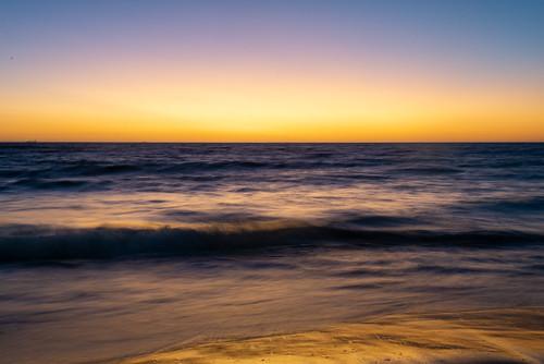nikond600 nikon35mmf2 australia westernaustralia cottesloe beach sunset water sea indianocean