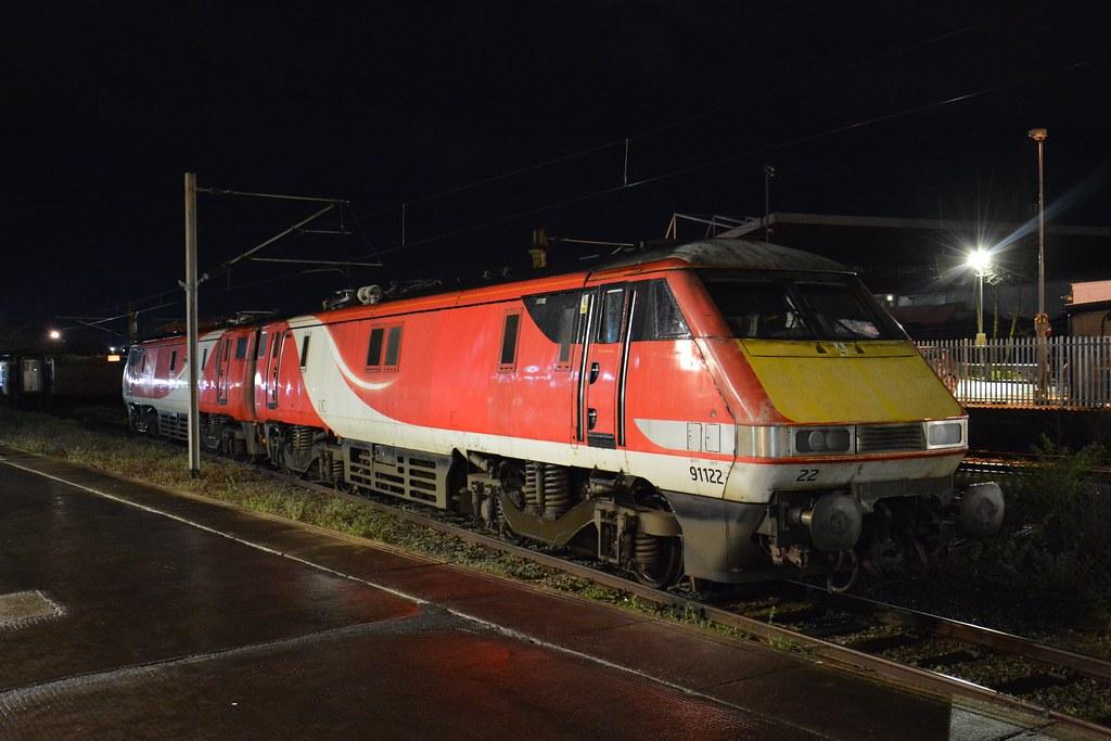 91122 and 91128 Crewe 9/3/2020