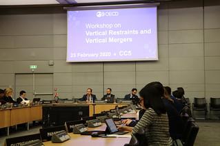 OECD Workshop on Vertical Mergers and Vertical Restraints