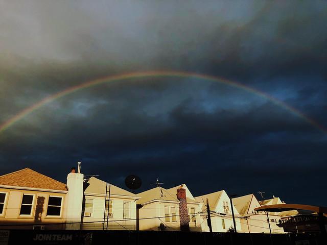 Somewhere under the rainbows