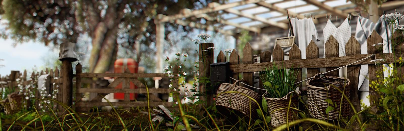 POST🔥 #1869 | Nutmeg | Rustic Fence