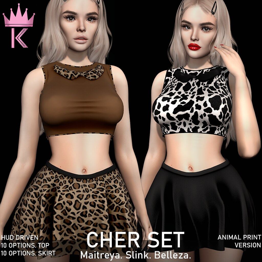 .KIMBRA. – CHER SET [ANIMAL PRINTS]