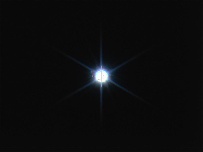 シリウスBの軌道と位置