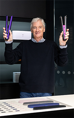 James Dyson launched the Corrale globally via a live streaming from the Dyson Demo Store in the Opera district of Paris.
