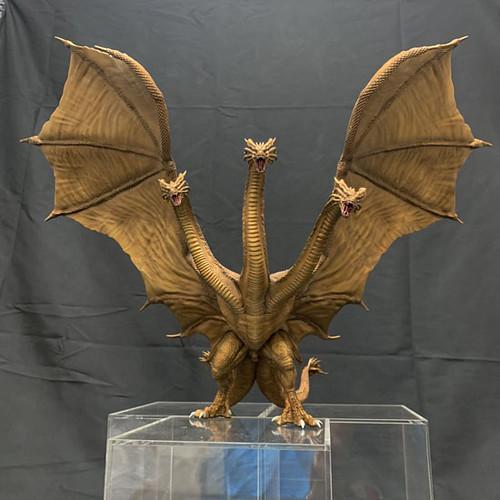 Art Spirits 超激造系列《哥吉拉2:怪獸之王》王者基多拉(2019) キングギドラ(2019)原型公開!