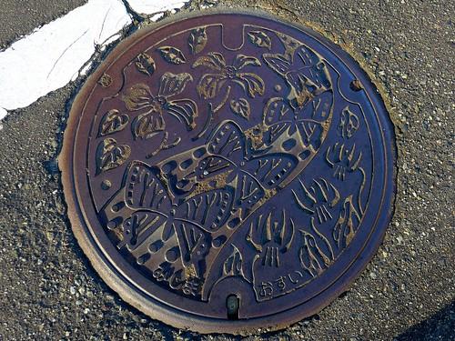 Mishima Nigata, manhole cover (新潟県三島町のマンホール)