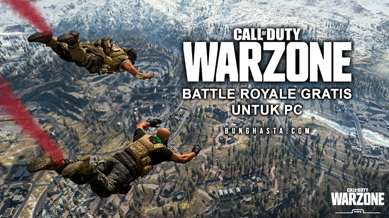 Call of Duty - Warzone, Game Battle Royale Gratis Untuk PC
