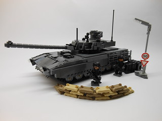 Lego T-14 Armata Main Battle Tank | by Parm Brick