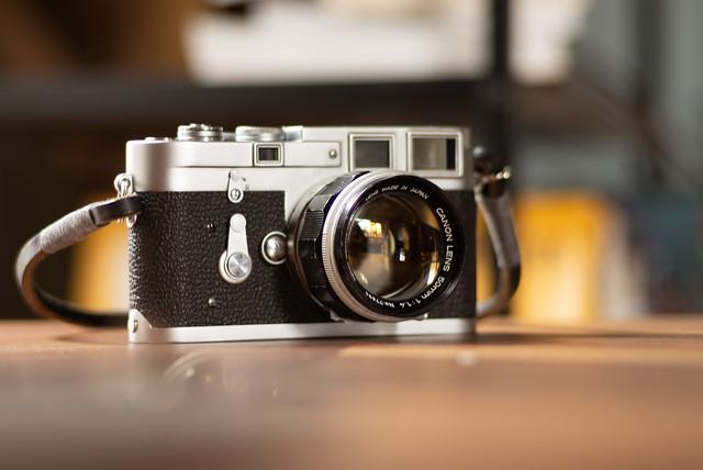 Leica M3 Double-stroke with Canon 50mm ƒ/1.4 LTM
