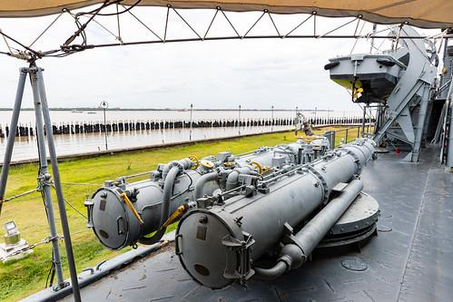 45cm Torpedo tubes