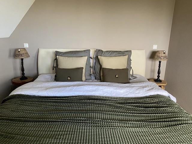 Slaapkamer olijfgroen landelijk