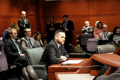 "HARTFORD – State Representative Christopher Davis (R-57) testified in support of SB 329 ""An Act Concerning Long-Term Care Insurance Policies"" and HB 5370 ""An Act Concerning Crumbling Concrete Foundations"" before the Insurance and Real Estate Committee on Tuesday, March 10th."