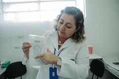 Sessões de Auriculoterapia na UBS Vila Bela