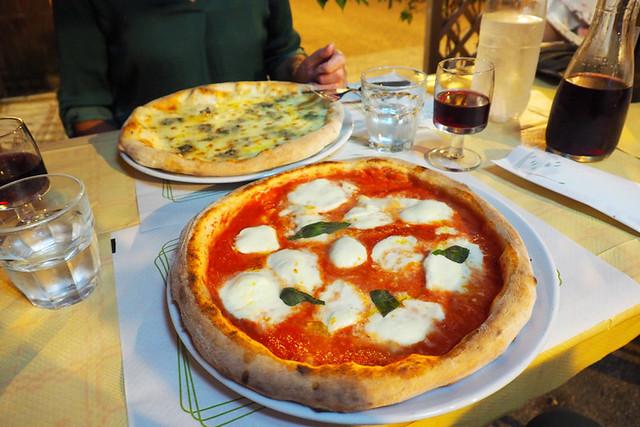 Pizza in Pisa, Italy