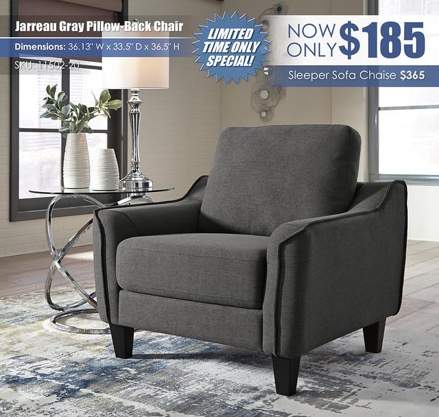 Jarreau Gray Chair_11502-20