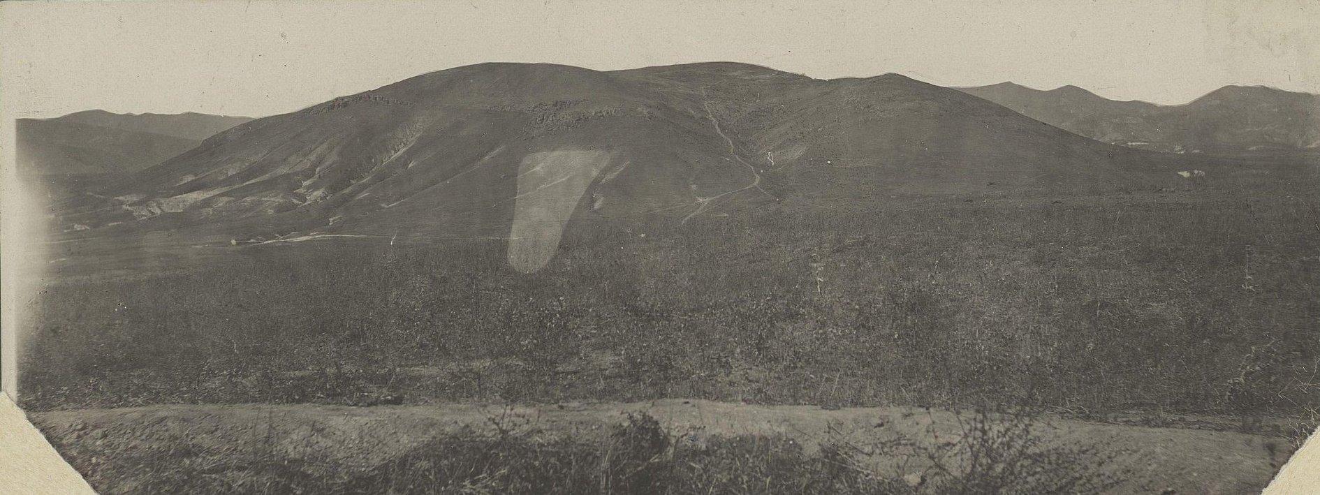 1915. Панорама Галицийских гор