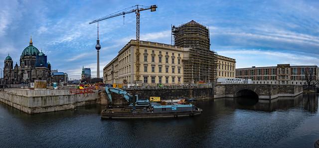 Der Wiederaufbau des Berliner Schlosses geht seinem Ende entgegen
