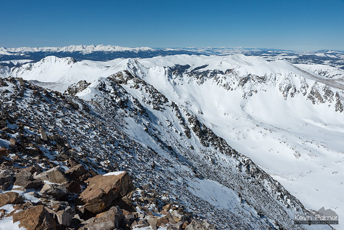 quandarypeak 14er rockies rockymountains colorado breckenridge summit snow cold winter february sunny blue sky nikond750 tamron2470mmf28