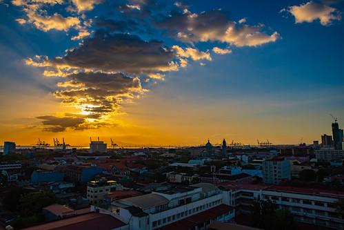philippines manila panoramicview bayleafintramuros