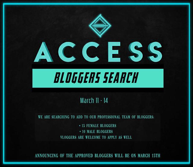 ACCESS Bloggers Search 2020