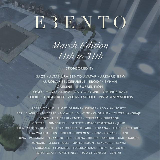 Ebento March Edition