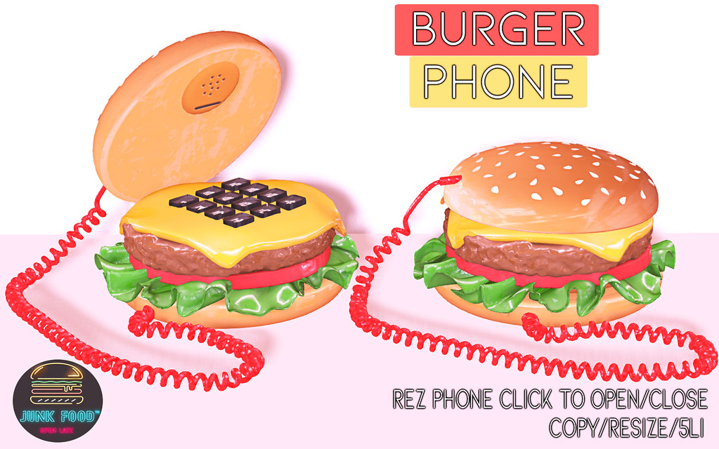 Junk Food - Burger Phon Ad